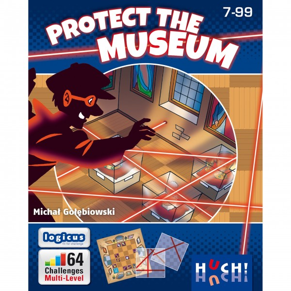 Familienspiel Protect the museum von HUCH!