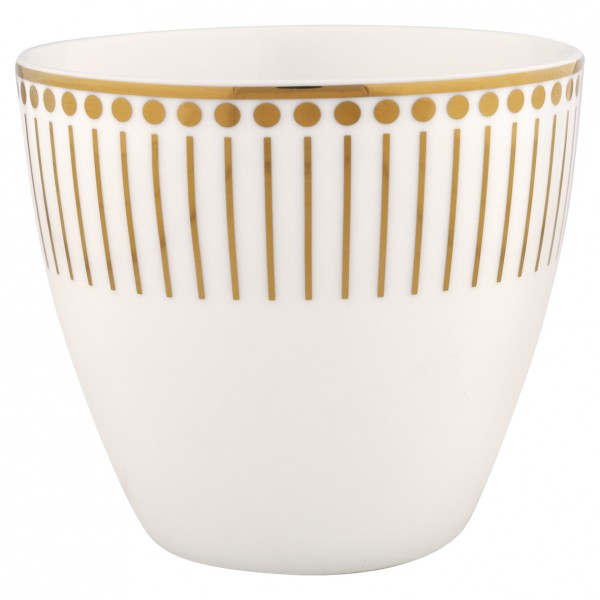 "Latte Cup ""Dawn"" (Gold) von Gate Noir by GreenGate"