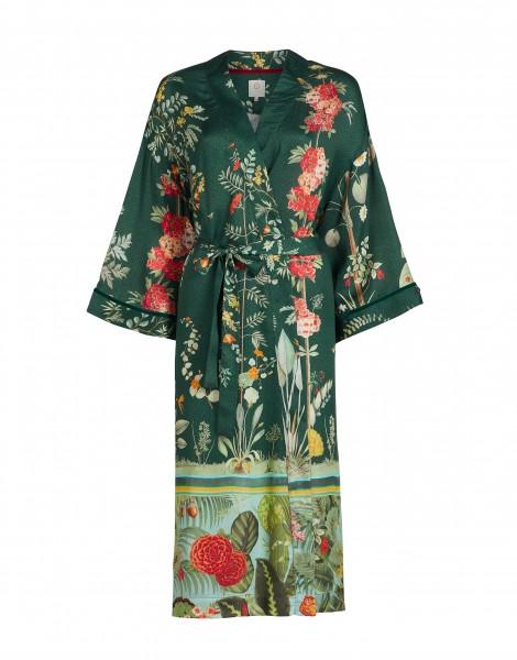 """Pip Studio Kimono """"Noelle Babylons Garden"""" (Green)"""
