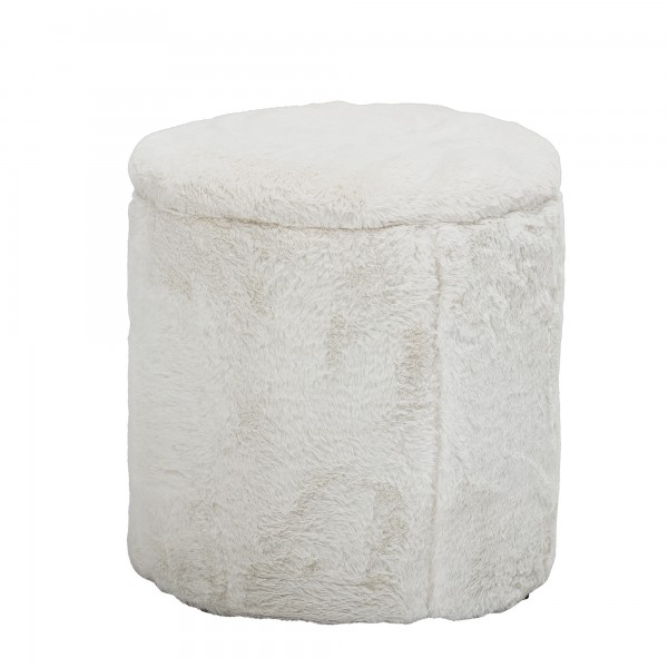Bloomingville Pouf (Weiß)