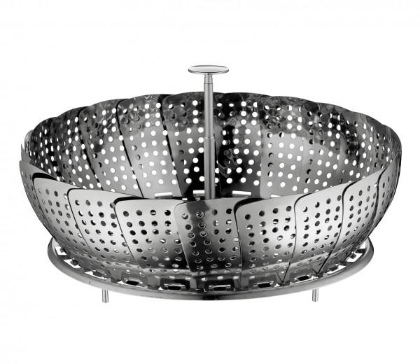 Der Küchenprofi Dampfeinsatz ist klappbar und leicht zu verstauen!