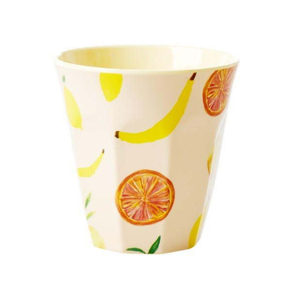 "Rice Melamin Becher ""Happy Fruits""-1"