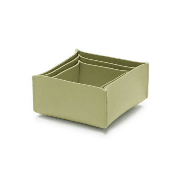 Filz-Box-Set 2 - SML (Hellgrün/Pistazie) von HEY-SIGN