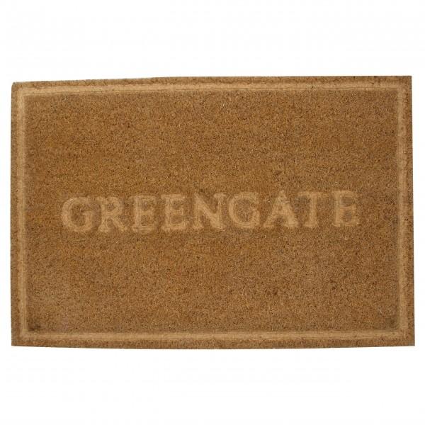 """GreenGate Kokos-Fußmatte """"Greengate"""" (Braun)"""