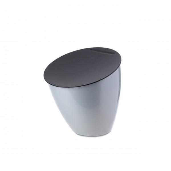 """Mepal Tisch-Abfallbehälter """"Calypso"""" (Silver)"""