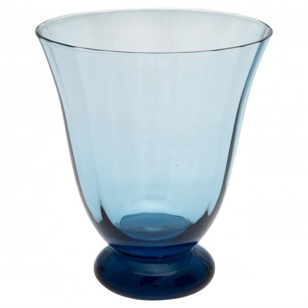 GreenGate Wasserglas (Blue) - mit rundem Fuß