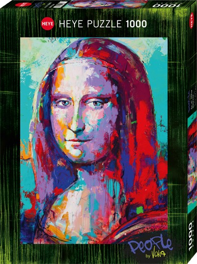 Puzzle Mona Lisa PEOPLE Standard 1000 Pieces