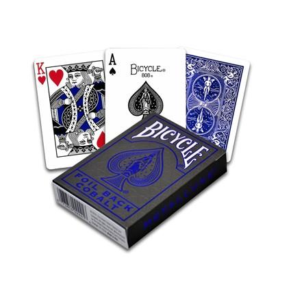 """Kartenspiel """"Metalluxe Blue"""" von Bicycle"""