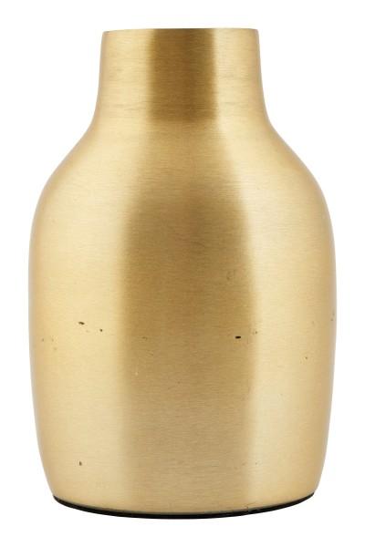 Gebürstetes Metall: Vase von House Doctor