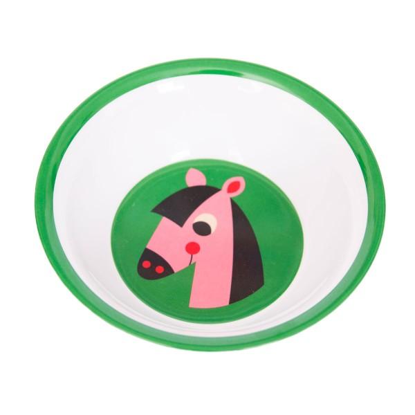 OMM Design Schüssel aus Melamin mit Pferd!