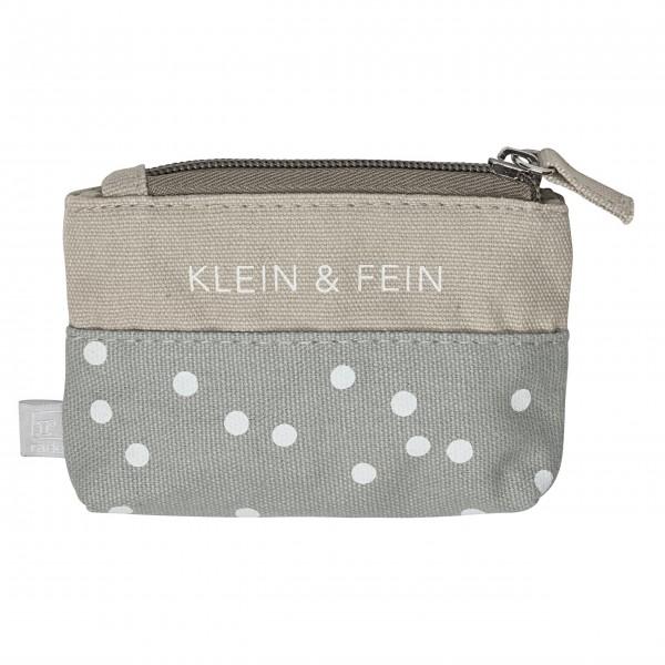 """Kosmetiktasche """"Klein und fein"""" (Grau/Beige) von räder Design"""
