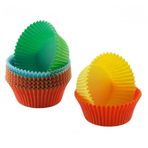 Kaiser Mini-Muffin-Papierbackförmchen (Farbig)