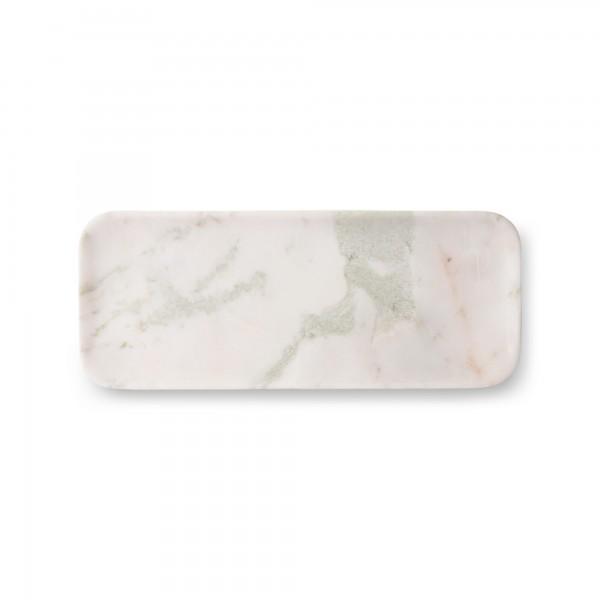 Marmortablett (Weiß/Grün/Pink) von HKliving