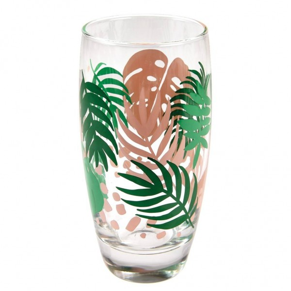 "Wasserglas ""Tropical Palm"" von Rex LONDON"
