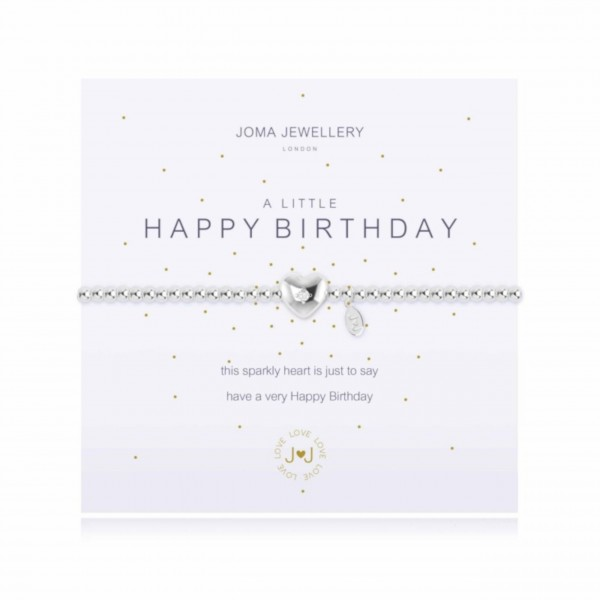 "Armband ""Happy Birthday"" von Joma Jewellery"