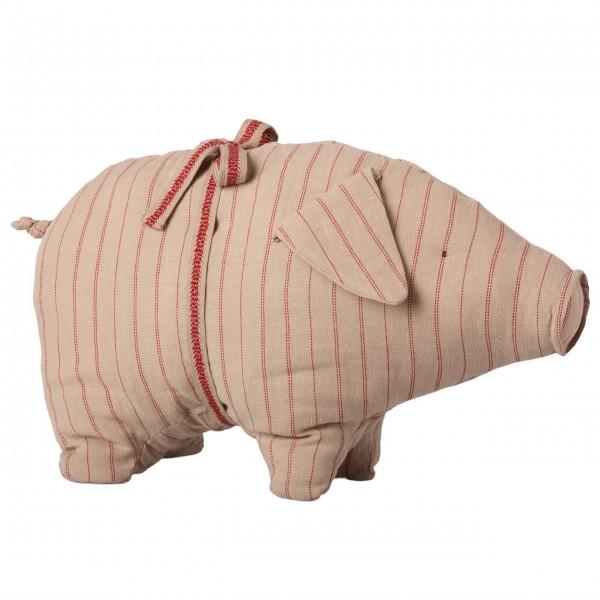 Maileg Schwein mit Streifen - Mittel