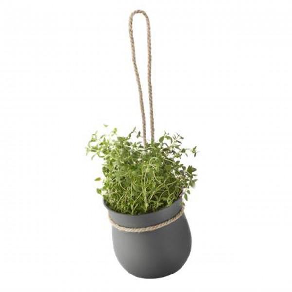 "Stelton Rig-Tig Blumentopf ""Grow it"" (Grau)"