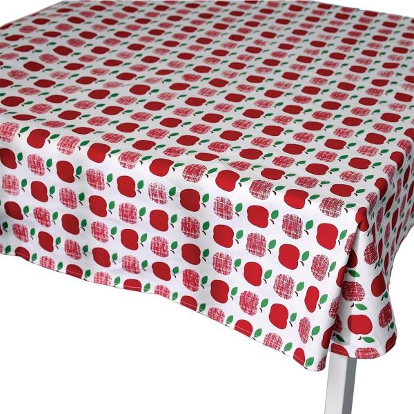 """Für die nächste Gartenparty - Tischdecke """"Apples"""" in Rot"""