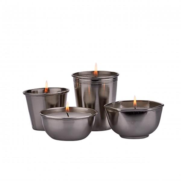 Tolle Kerzen in vier unterschiedlichen Cups: von Bahne