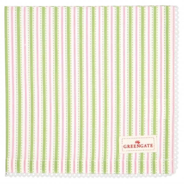 "GreenGate Stoff-Serviette mit Spitze ""Sari"" (White)"