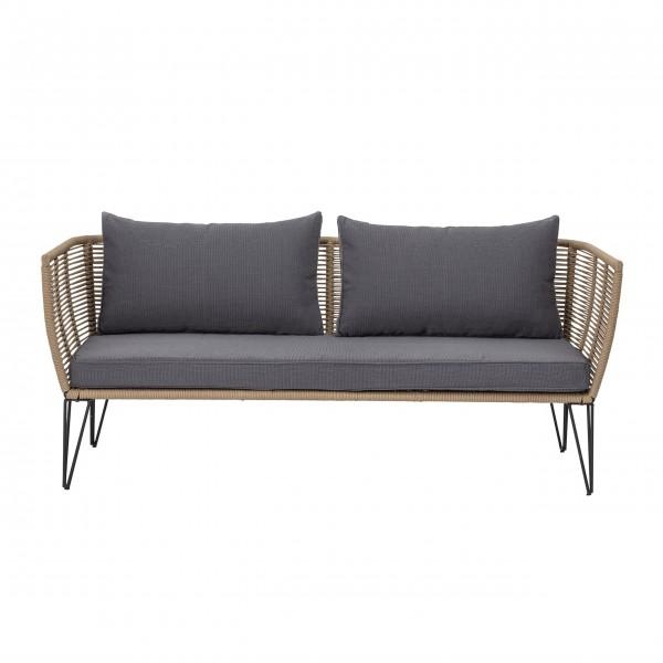 "Bloomingville Sofa / Sitzbank ""Mundo"" (Braun)"