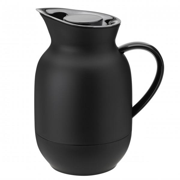 """Stelton Kaffee-Isolierkanne """"Amphora"""" (Soft Black)"""