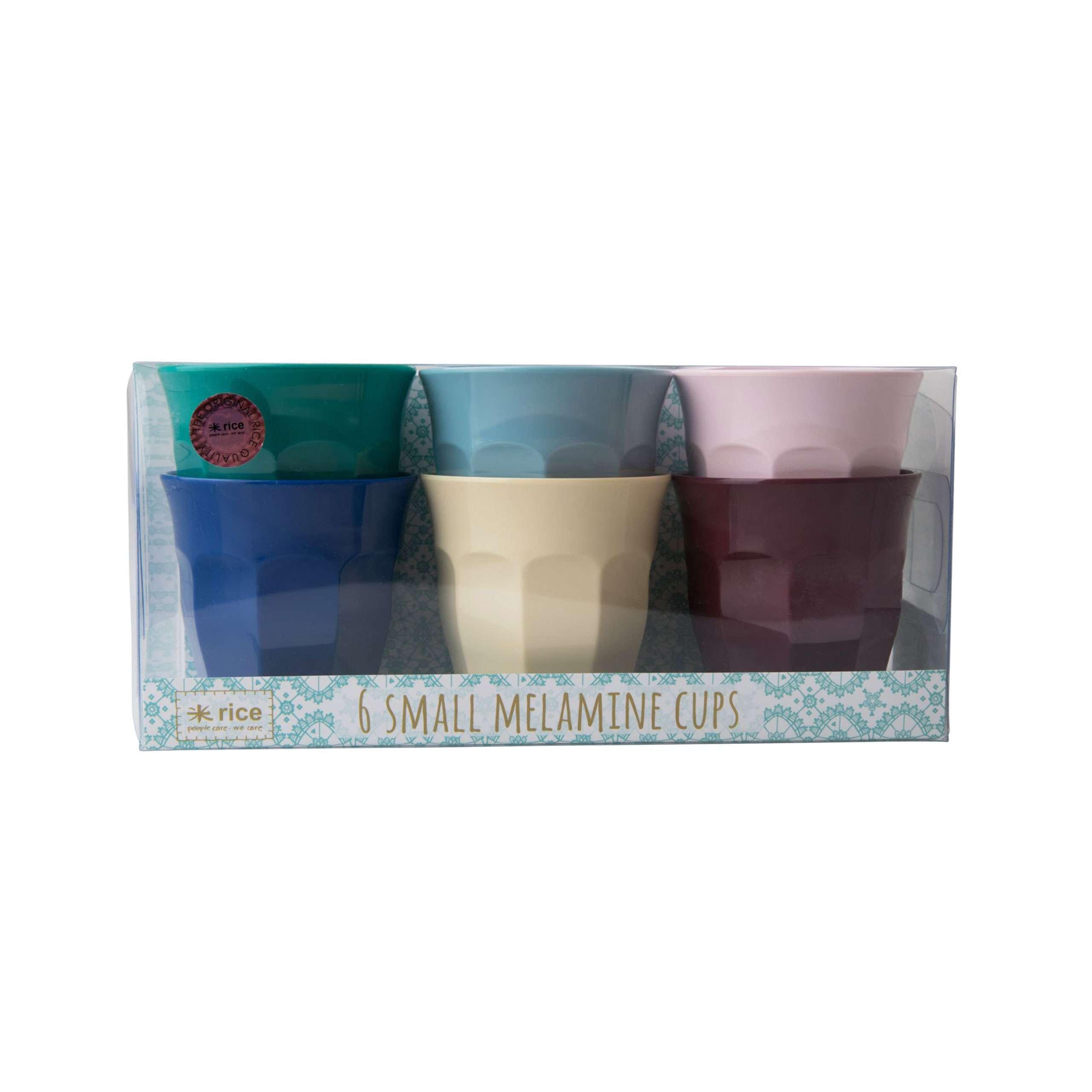 Rice Melamin Kleine L/öffel Sunny Colors 6er Set