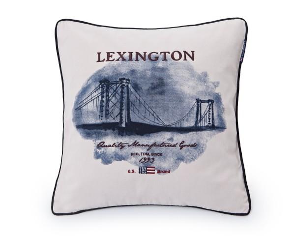 "Lexington Kissenbezug ""U.S Bridge"" (Weiß)"