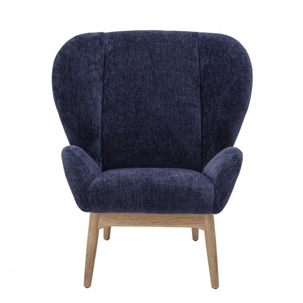 "Bloomingville Lounge-Sessel ""Eave"" (Blau)"