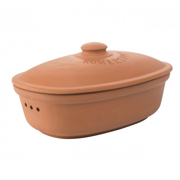 "RÖMERTOPF Brottopf ""Medium"" - Oval (Terracotta)"