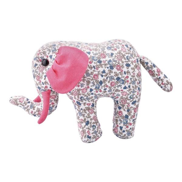 "GreenGate Stofftier Elephant ""Ruby Petit"" (White)"