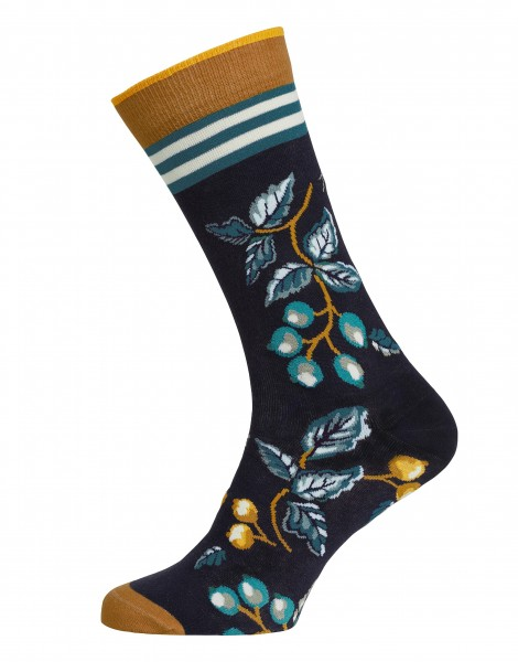 "Pip Studio Socken ""Anna Delightful"" (Blue)"