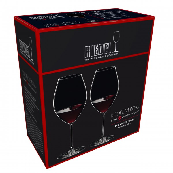 "Riedel Rotweinglas ""Veritas Old World Syrah"" - 2er-Set"