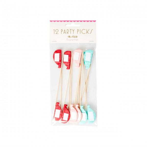 """Rice Party Picks """"Ballon"""" - 12 Stk."""