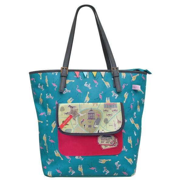 """Eine Tasche für den Urlaub: Shopper """"Memento"""""""