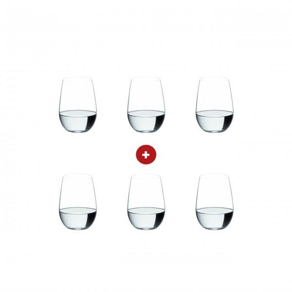 """Riedel """"O"""" für Riesling/Sauvignon Blanc - 6er-Set"""