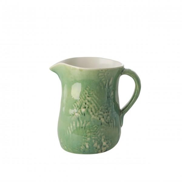 "Rice Krug aus Keramik ""Blumen"" - 1,7 L (Grün)"