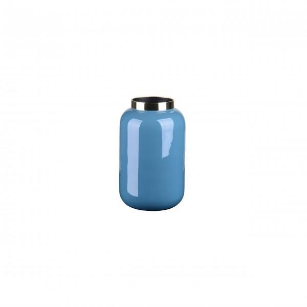 "Vase ""Saigon"" - XS (Blau/Gold) von Gift Company"