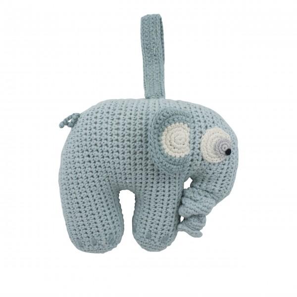 """Spieluhr """"Fanto der Elefant"""" (Blau) von sebra"""