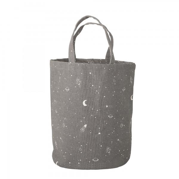 """Bloomingville Einkaufstasche """"Nachthimmel"""" (Grau)"""