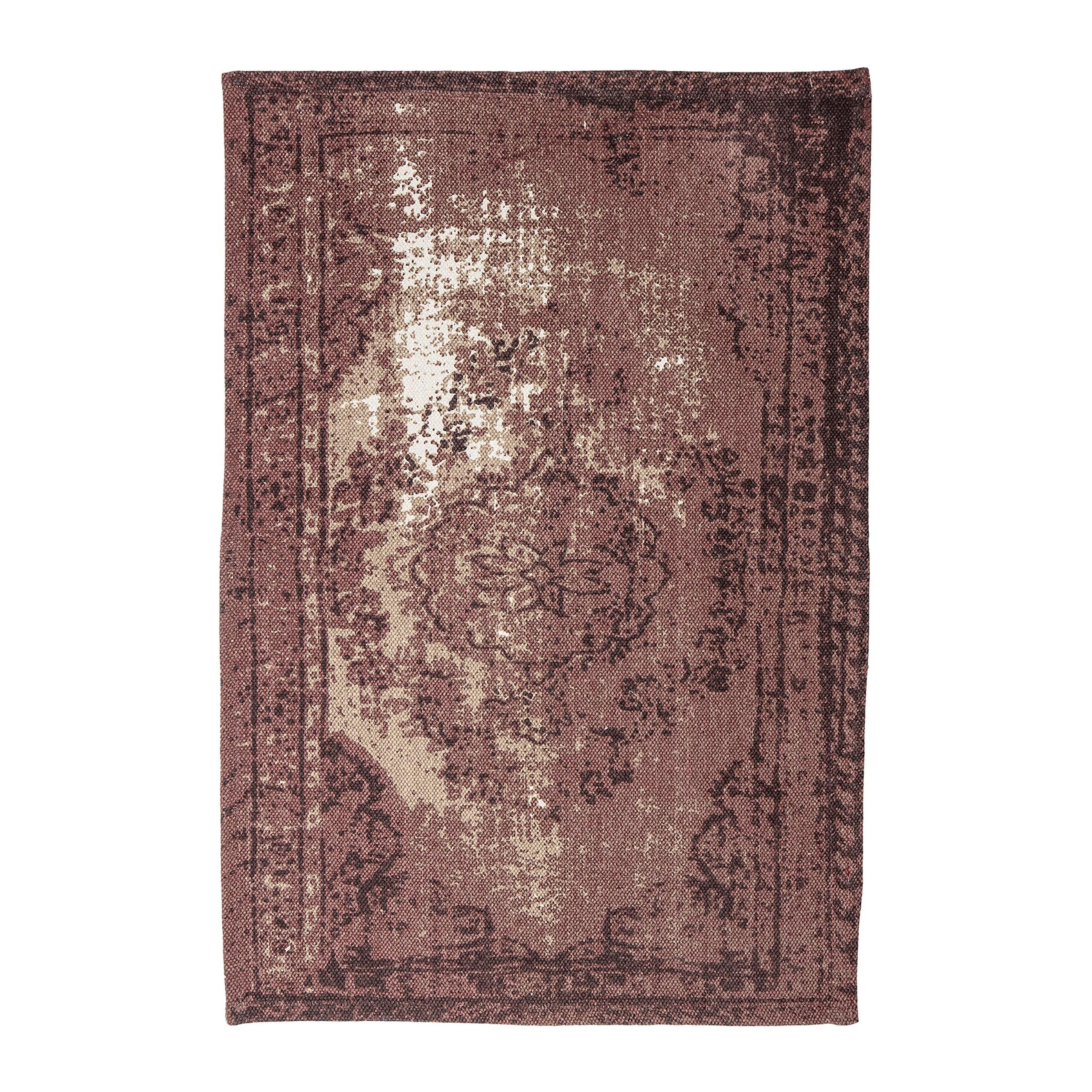 Bloomingville Orientalischer Teppich Rot
