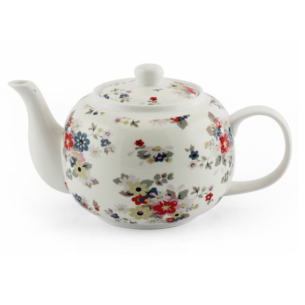 """Für eine romantische Teestunden - Porzellankanne """"Summer Daisy"""""""