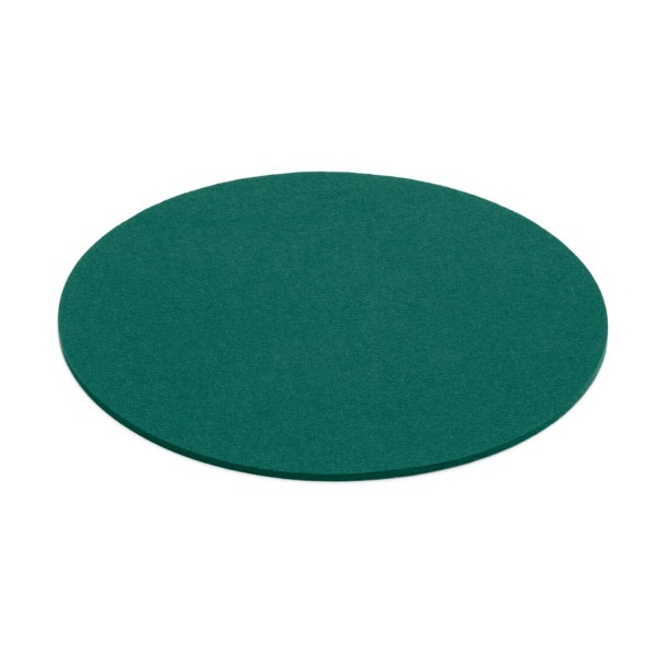 Filz-Untersetzer rund - 35 cm (Grün/Jade) von HEY-SIGN