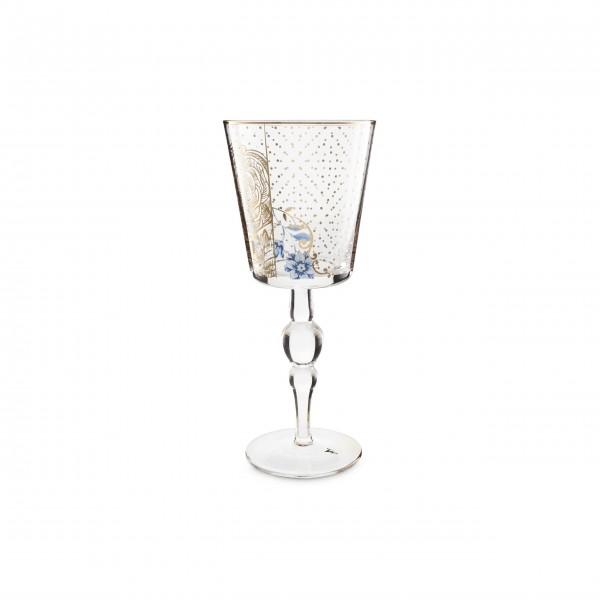"Pip Studio Weinglas ""Royal Golden Flower"" - 360 ml"