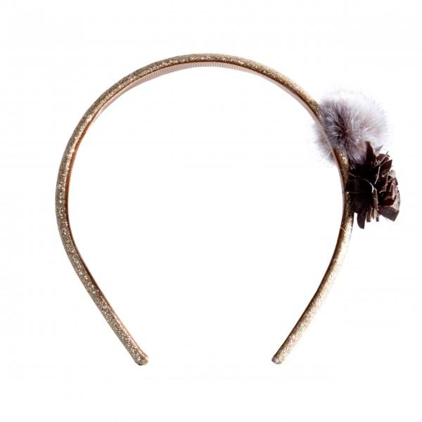 Maileg Haarband (Grau)