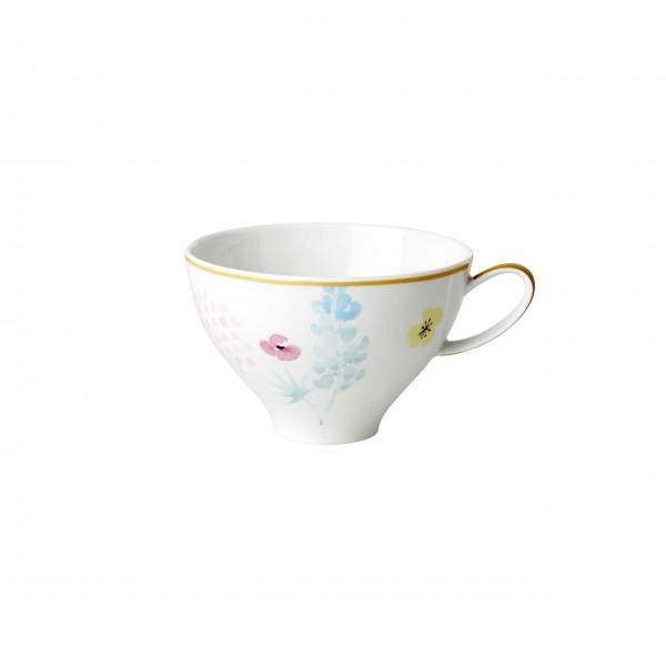 Zauberhafte Porzellan Teetasse von Rice