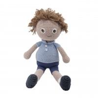 """Gehäkelte Puppe """"William"""" von sebra"""