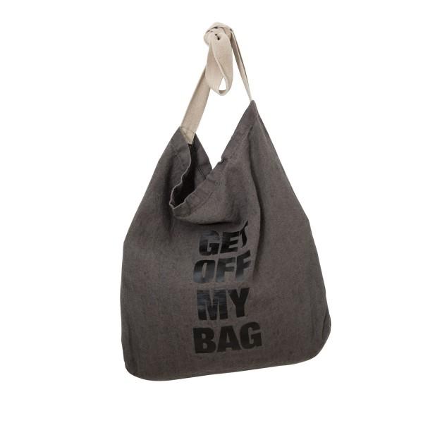 """Strandtasche """"Get off"""" aus hochwertiger Leine"""