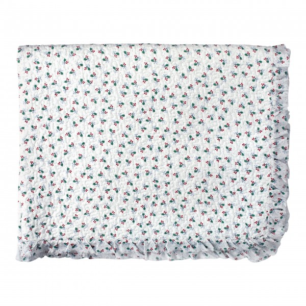 """GreenGate Quilt """"Joselyn"""" - 140 x 220 cm (White)"""