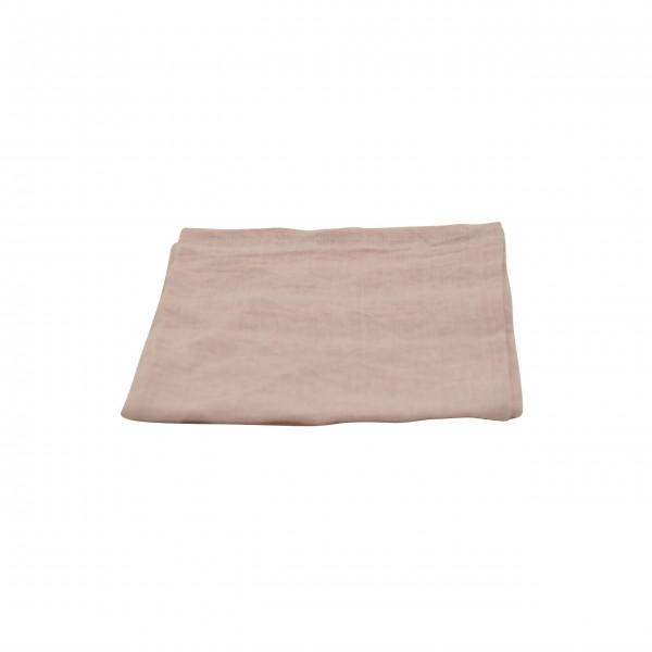 Serviette aus Leinen - 40x40 cm (Rosa) von Solwang Design